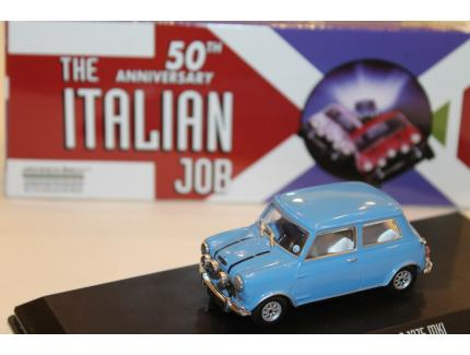 "AUSTIN MINI COOPER S 1275 MKI BLEU ""L'OR SE BARRE"" 1967 GREELIGHT 1/43°"