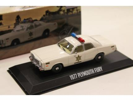 "PLYMOUTH FURY ""POLICE"" 1977 GREENLIGHT 1/43°"