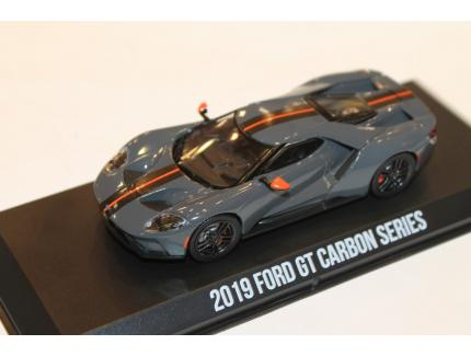 FORD GT CARBON SERIES GRIS 2019 GREENLIGHT 1/43°