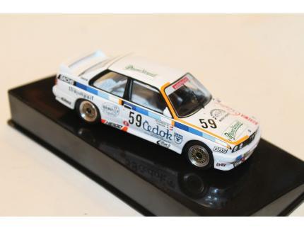 BMW E30 M3 N°59 ETCC 1988 IXO 1/43°