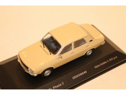 RENAULT 12 TL PHASE 2 BEIGE ODEON 1/43°