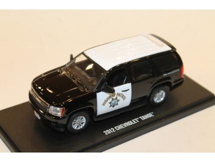 CHEVROLET TAHOE 2012 CALIFORNIA HIGHWAY PATROL GREENLIGHT 1/43