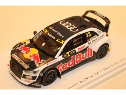 AUDI S1 EKS RX QUATTRO N°13 2ND WORLD RX OF GREAT BRITAIN 2018 SPARK 1/43°