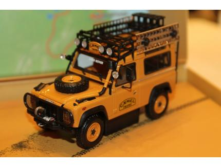"""LAND ROVER 90 """"CAMEL TROPHY"""" BORNEO 1985 ALMOST REAL 1/43°"""