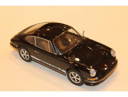 PORSCHE 911 S COUPE NOIR 1973 SCHUCO 1/18°