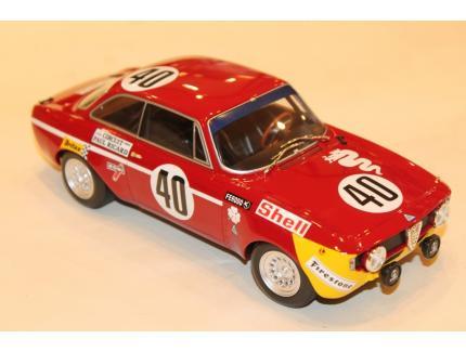 ALFA ROMEO GTA 1300 JUNIOR N°40 WINNERS DIV.1 12H PAUL RICARD MINICHAMPS 1/18°