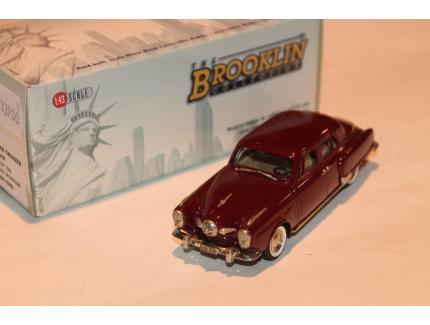 STUDEBAKER LAND CRUISER ROUGE 1950 BROOKLIN 1/43°