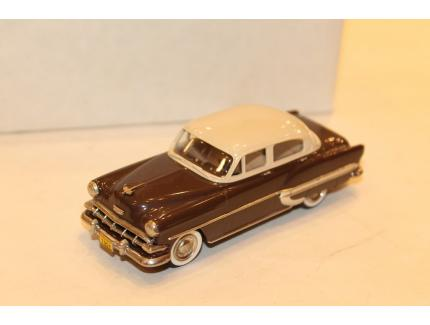 CHEVROLET BEL AIR MARRON 1954 USA MODEL 1/43°
