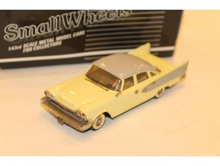 CHRYSLER WNDSOR JAUNE 1958 WESTERN MODEL 1/43°