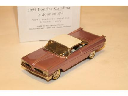 PONTIAC CATALINA COUPE 1959 MADISON 1/43°