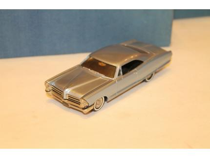 PONTIAC BONNEVILLE COUPE BLEU 1965 MADISON MODELS 1/43°