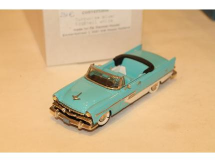 PLYMOUTH BELVEDERE CONVERTIBLE 1956 MADISON MODELS 1/43°