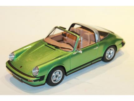 PORSCHE 911 S 2.7 TARGA VERT GT SPIRIT 1/18°