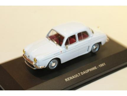 RENAULT DAUPHINE BLANCHE 1961 SOLIDO 1/43°