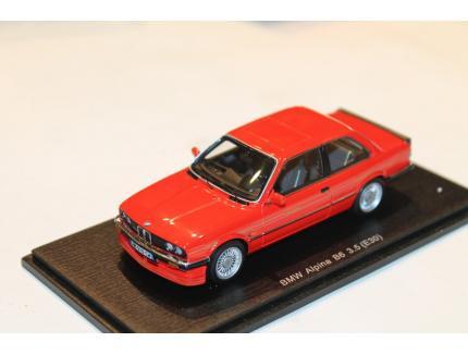 BMW ALPINA B6 3.5L ROUGE SPARK 1/43°