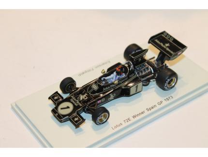 LOTUS 72E N°1 WINNER SPAIN GP 1973 SPARK 1/43°