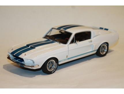 SHELBY MUSTANG GT500 1967 BLANCHE SOLIDO 1/18°