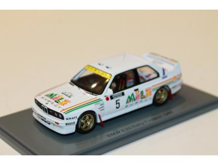BMW E30 N°5 RALLYE FINLANDE 1988 SPARK 1/43°