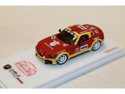 FIAT 124 ABARTH SPIDER RALLY CONCEPT TSM 1/43°