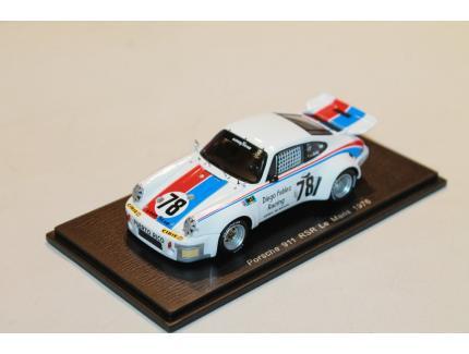 PORSCHE 911 RSR N°78 LM 1976 SPARK 1/43°