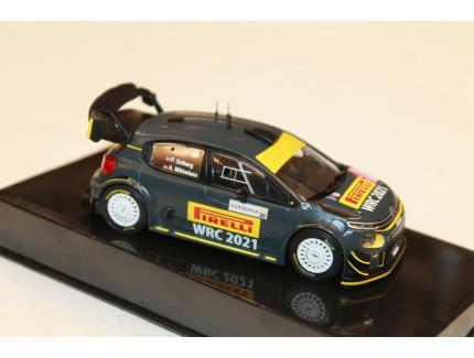 CITROEN C3 WRC RALLYE SERDAGNA 2020 IXO 1/43°