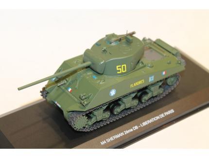 M4 SHERMAN 2ème DB - LIBERATION DE PARIS 1944 ODEON 1/43°