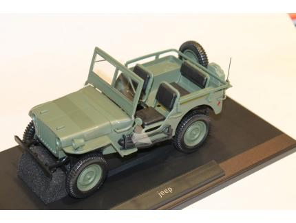 JEEP WILLY'S VERTE 1942 NOREV 1/18°