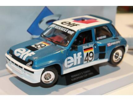 "RENAULT 5 TURBO CUP 1981 ""ROHRL"" SOLIDO 1/18°"
