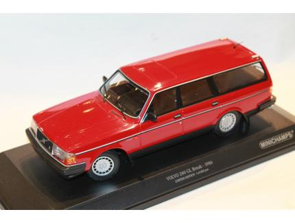 VOLVO 240 GL BREAK 1986 MINICHAMPS 1/18°