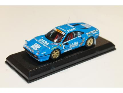 FERRARI 308 GTB RALLY 1000 MIGLIA 1983 BEST MODEL 1/43°