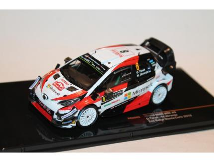 TOYOTA YARIS WRC N°8 TANAK MC 2018 IXO 1/43°