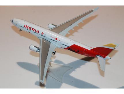 AIRBUS A330-200 IBERIA MADRID 2019 HERPA 1/200°