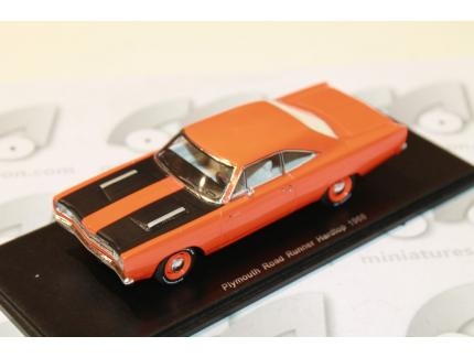 PLYMOUTH ROAD RUNNER 1968 SPARK 1/43°