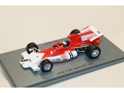 BRM P180 GP ESPAGNE 1972 SPARK 1/43°