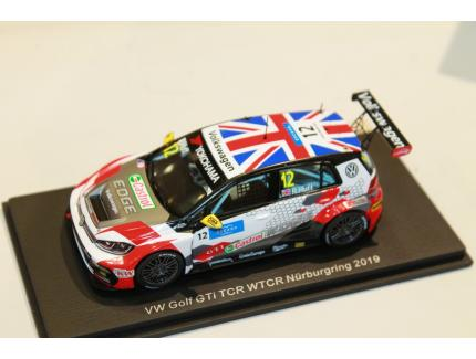 VW GOLF GTI TCR NURBURGRING 2019 SPARK 1/43°