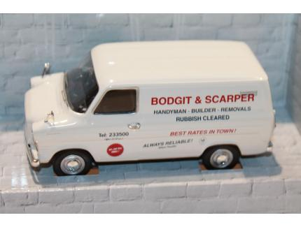 FORD TRANSIT MK1 TOOLS OF THE TRADE BODGIT AND SCARPER CORGI 1/43°