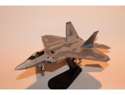 "LOCKHEED F-22A RAPTOR ""BAY COUNTY"" 2008 HOBBYMASTER 1/72°"