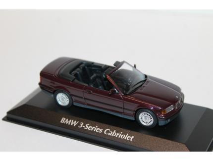 BMW SERIE 3 E36 CABRIOLET VIOLETTE 1993 IXO 1/43°