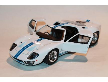 FORD GT40 WIDEBODY BLANC 1968 SOLIDO 1/18°