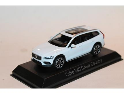 VOLVO V60 CROSS COUNTRY BLANC 2019 NOREV 1/43°