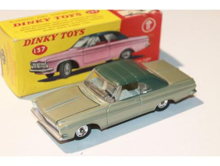 PLYMOUTH FURY CONVERTIBLE DINKY TOYS 1/43°