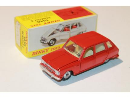 RENAULT 6 ROUGE DINKY TOYS 1/43°