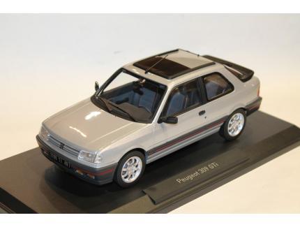 PEUGEOT 309 GTI GRIS 1987 NOREV 1/18°