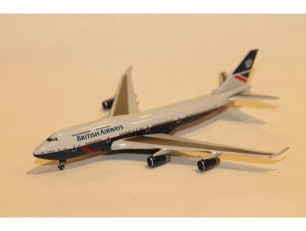 BOEING 747-400 LANDOR HERITAGE BRITISH AIRWAYS HERPA 1/500°