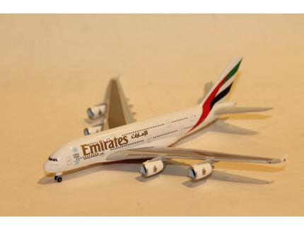 AIRBUS A380-800 EMIRATES HERPA 1/500°