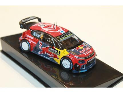 CITROEN C3 WRC VQ DU RALLYE DE SUEDE 2019 IXO 1/43°