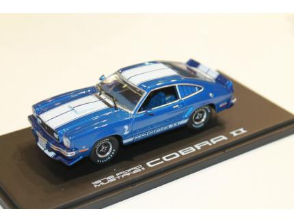 "FORD MUSTANG II COBRA II ""FREE WHEELIN'"" 1976 GREENLIGHT 1/43°"