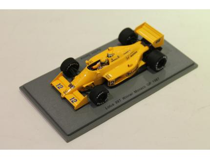 LOTUS 99T WINNER MONACO GP 1987 SPARK 1/43°