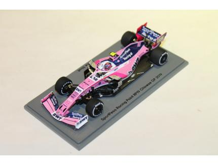 SPORTPESA RACING POINT RP19 CHINESE GP 2019 SPARK 1/43°