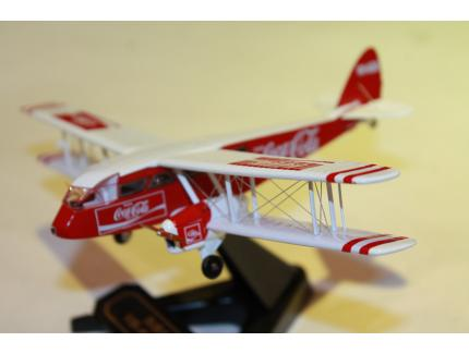 D.H. 84 DRAGON VH-AQU COCA-COLA OXFORD 1/72°